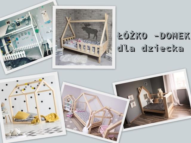 dziecięce łóżka domki z oferty sklepu internetowego ola4kids