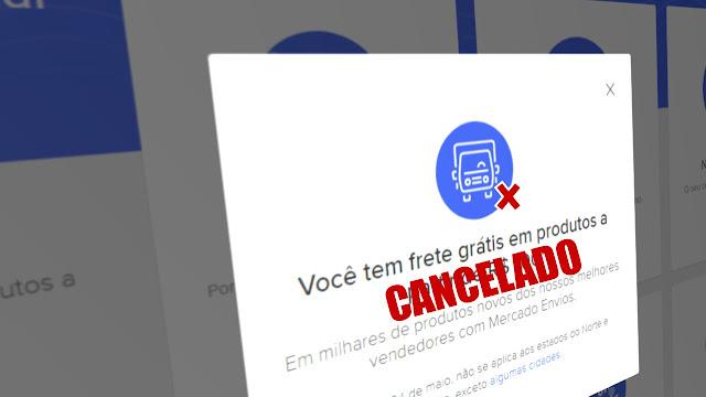 Mercado Livre cancela com benefício de Frete grátis para o Nordeste