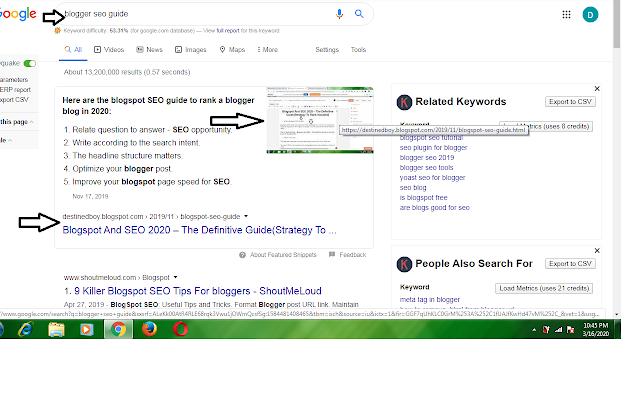 Google Blogger - Hướng dẫn cách xếp hạng Top 5 trên Google Search