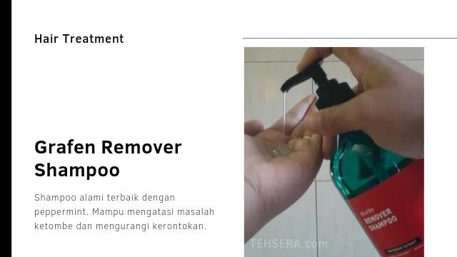 Grafen remover shampoo anti ketombe, sensasi keramas ala ciwi-ciwi Korea