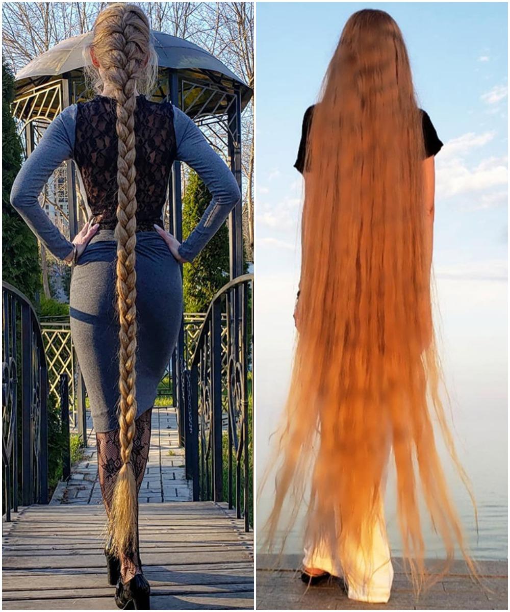 Ukrainian Rapunzel Alena Kravchenko