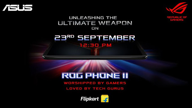 ASUS ROG Phone 2 launching on September 23