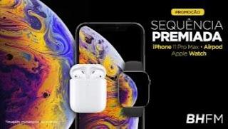 Cadastrar Promoção BH FM Sequência Premiada Novembro 2019 Combo Apple