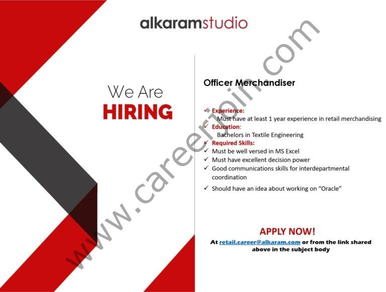 aks.mihcm.com - Alkaram Studio Jobs 2021 in Pakistan