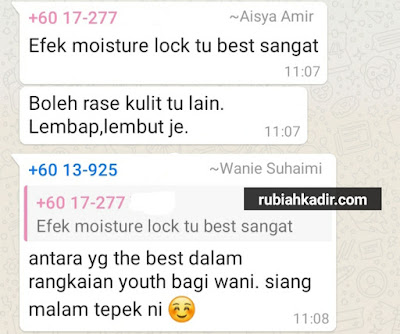 Testimoni Youth Moisture Lock Day Cream
