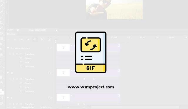 Cara Membuat gif di Photoshop