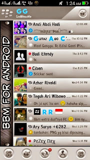 Tampilan BBM MOD: LiteGrey v2.8.0.21 APK Free
