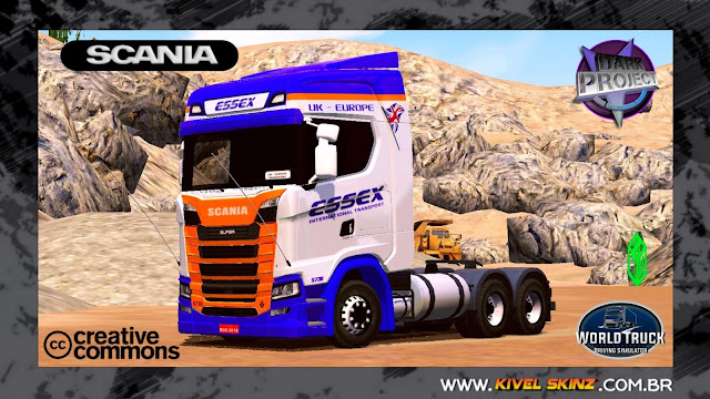 SCANIA S730 - ESSEX INTERNATIONAL