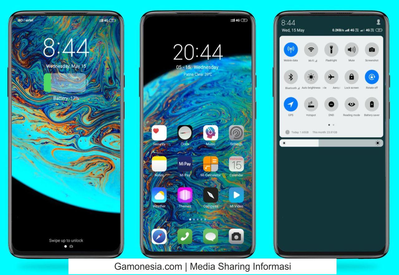 download tema xiaomi iphone keren