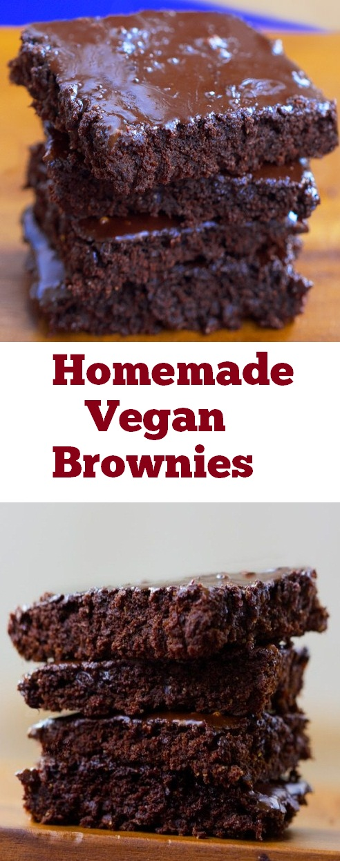 Homemade Vegan Brownies | recipes brownies | best fudge brownie | dark chocolate brownies | recipes vegan brownies | #homemade #vegan #brownies #veganbrownies #dessert