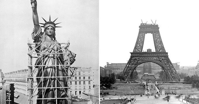 Top 15 Fotos de Estructuras y edificios iconicos durante su construcción