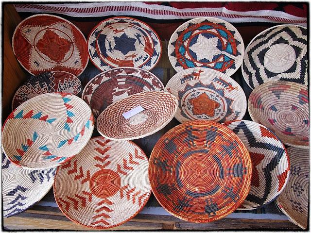 Indian basketware, Santa Fe,