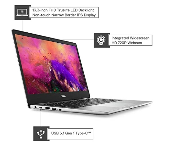 Dell Inspiron 7380 13.3-inch FHD Thin & Light Laptop