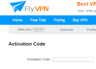 free trial vpn activation code