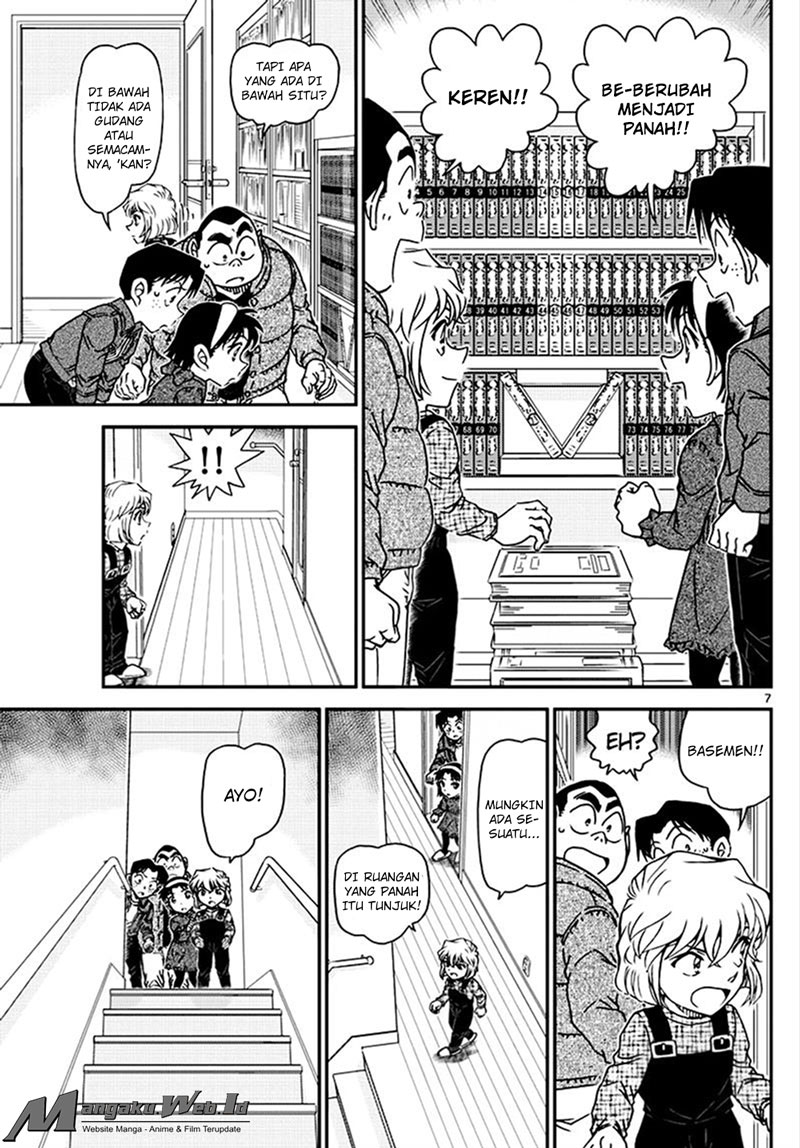 Detective Conan Chapter 1007-8