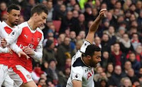 Arsenal vs Tottenham Hotspur Berakhir Imbang 1-1 (Video Gol)