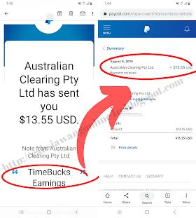 RM2,000 Percuma Di GiveAway Setiap Minggu Di TimeBucks| Buat Duit Online Mudah