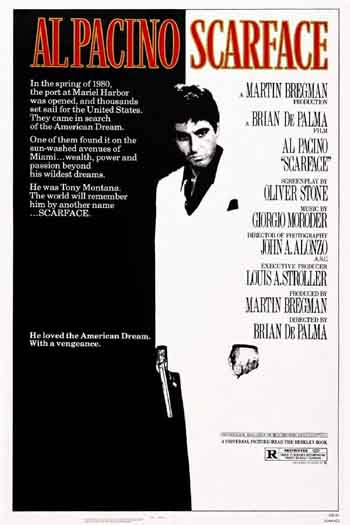 Scarface 1983 REMASTERED 480p 300MB BRRip Dual Audio