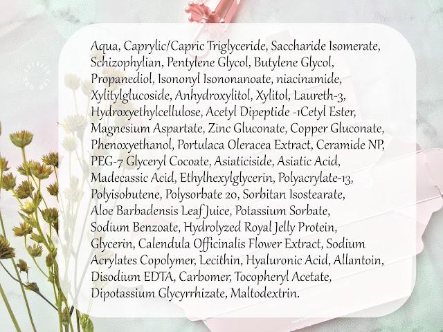 ingredients elsheskin deep hydration moisturizer
