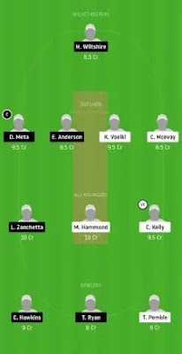 DDC vs SD Dream11 team prediction | DARWIN T20 2020