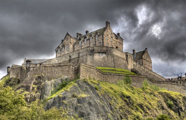 Edinburgh Castle, Edinburgh, Skotlandia