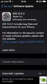Perbarui OS (Update OS)