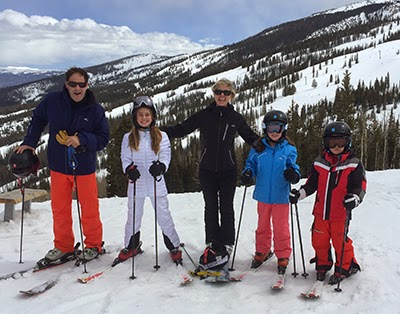 Marla Malcolm Beck, Barry Beck, Marla Beck, Barry and Marla Beck Bluemercury, Barry Beck Marla Beck family, Barry Marla Bluemercury Family, Beck Family Ski Trip, Becks in Aspen