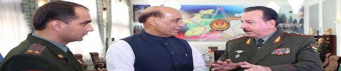 Rajnath Singh Takes Stock of Progress of Border Roads Organisation's Road Project In Tajikistan