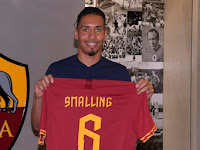 AS Roma Officially Borrowed Chris Smalling from Manchester United