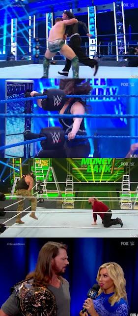 WWE Friday Night SmackDown 10th Jul 2020 480p 720p || 7starhd
