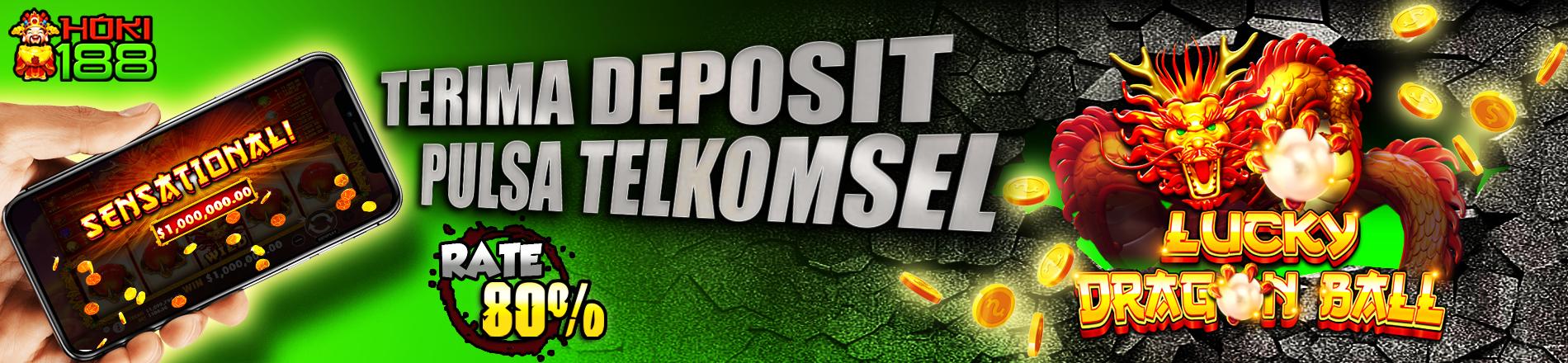 Hoki188 Menerima Deposit Pulsa Telkomsel
