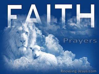 Seeds Of Destiny: 7 May 2020 - Prayer And Faith