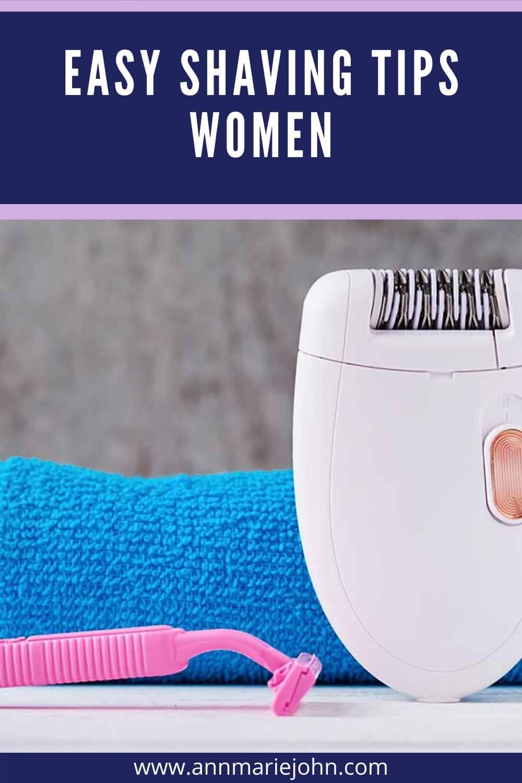 Shaving Tips for Pinterest
