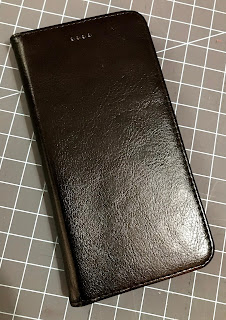 Premium PU Leather iPhone Wallet Case Front