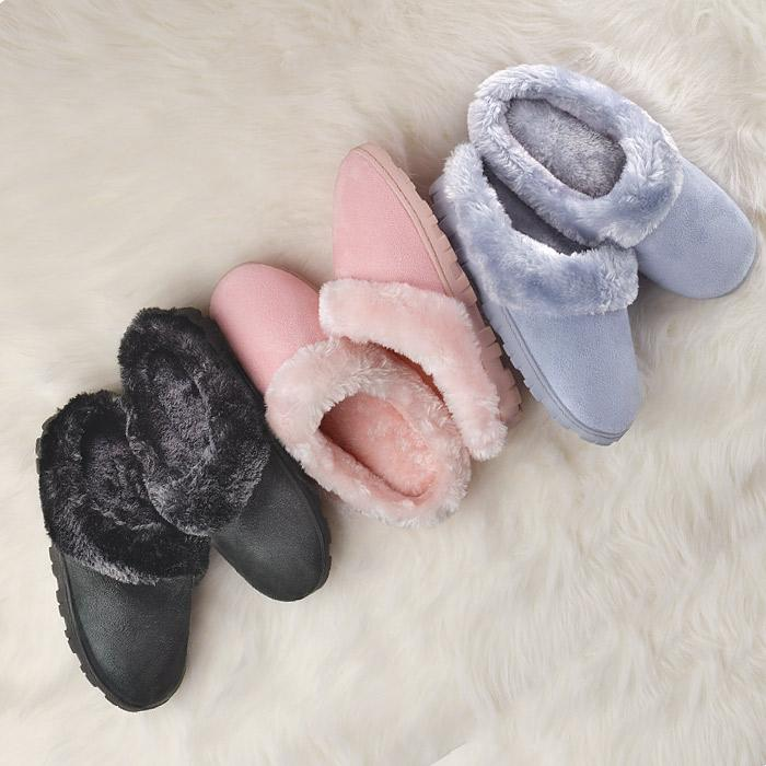 Memory Foam Soft and Furry Slipper $14.99
