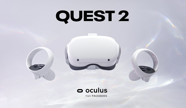 فيسبوك تعلن عن نظارة Oculus Quest 2 VR مقابل 299 دولارًا