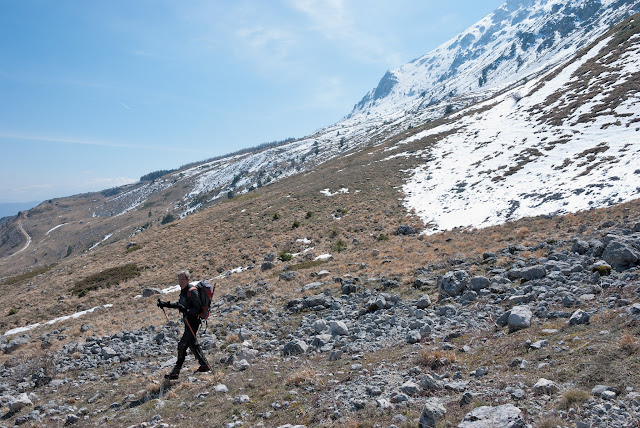 Monte Ocre, versante nord