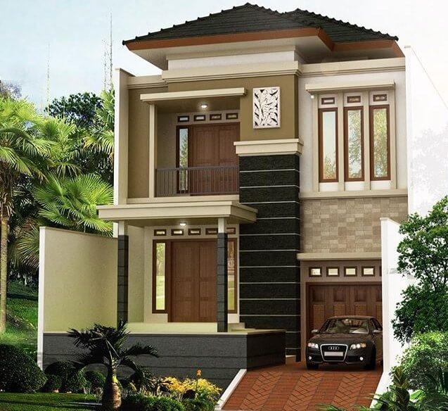 99 Contoh Gambar Desain Rumah Minimalis 2 Lantai 2020