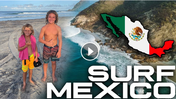 PERFECT WAVES IN MEXICO