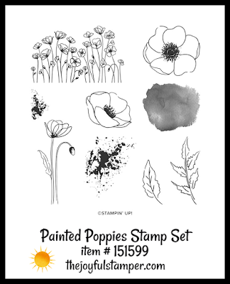 Stampin' Up! Painted Poppies stamp set | Nicole Steele The Joyful Stamper