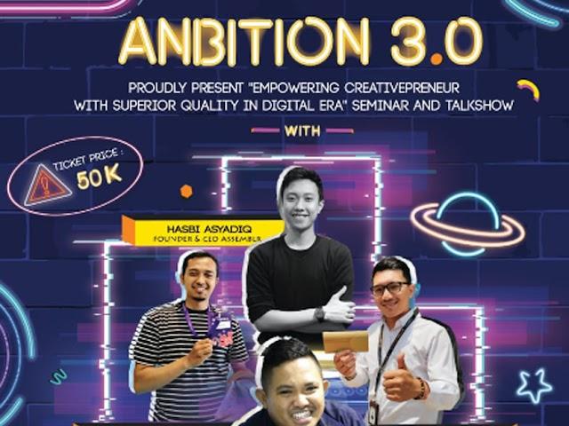 Hima Adminsitrasi Niaga Politeknik Negeri Bandung Gelar Anbition 2019