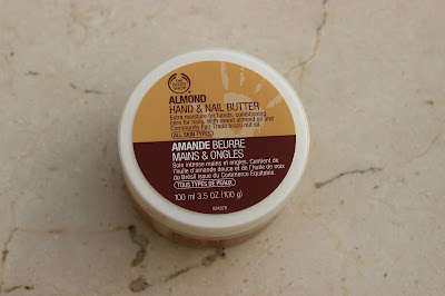 The Body Shop Almond Hand & Nail Butter review