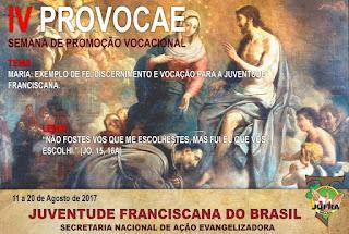 JUFRA do Brasil lança a IV PROVOCAE