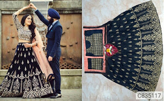 Fantastic Taffeta Satin Zari Work Lehenga With Choli Sets