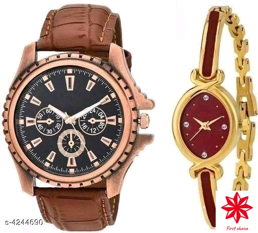 New Attractive Couple Watches Combo