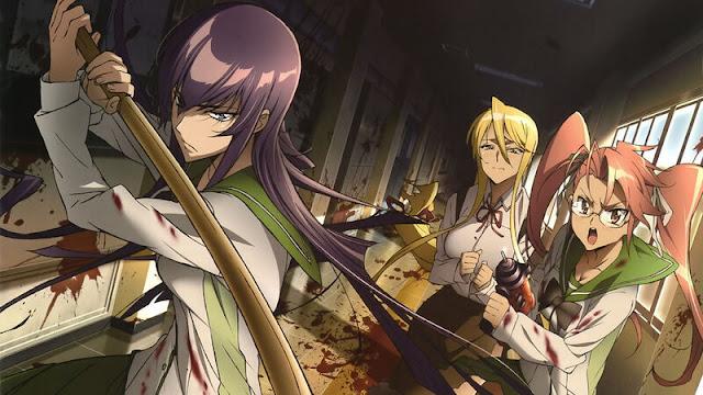 high school of the dead anime
