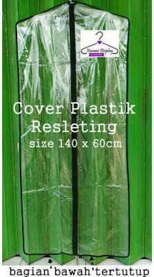 Plastik Cover Resleting