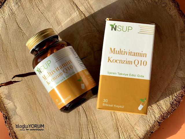 nsup multivitamin koenzim Q10 içeren takviye edici gıda 1