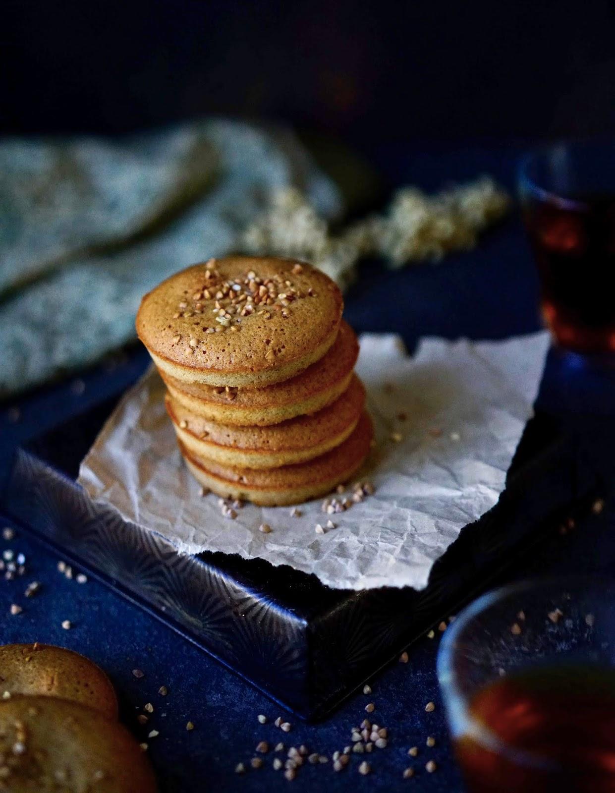 farine de sarrasin , recette sucrée au sarrasin , financier