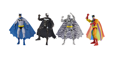 San Diego Comic-Con 2019 Exclusive DC Comics The Strange Lives of Batman Action Figure Box Set by Mattel